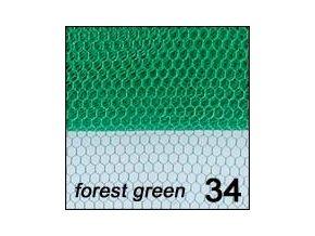Síťka - zdobení nehtů, zelená