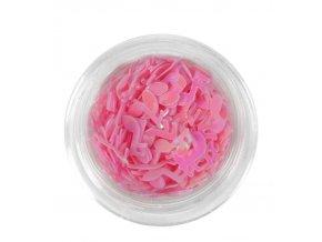Noty na nehty, růžové 100ks