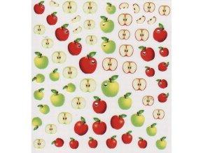Nálepky na nehty, jablka