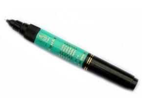 2v1 zdobící pero na nehty, modro-zelené