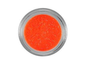 NEON oranžové třpytky na nehty