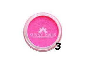 Barevný akryl, neon růžový