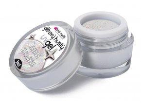 Enii nails Glitrový UV gel - Grease 5ml