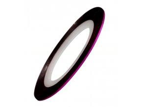 Samolepicí zdobící páska, růžová
