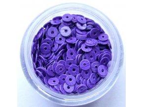 Flitry s fialovým pruhem