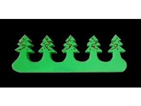 Vánoční oddělovač prstů, stromek