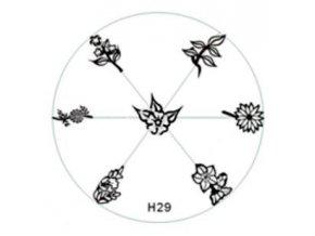 Destička na razítka H29