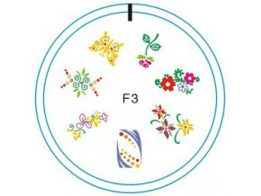 Silikonové razítko F3
