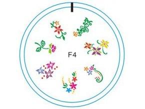 Silikonové razítko F4