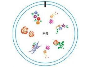 Silikonové razítko F6