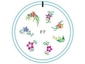 Silikonové razítko F7