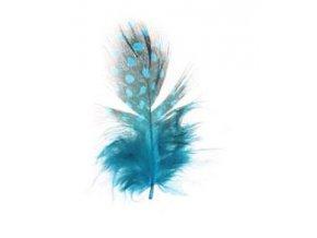 Modré peříčko 3ks