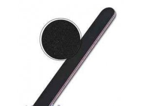 Pilník na nehty, rovný 240/240 černý