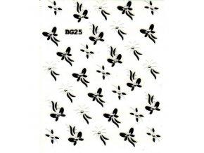 Nálepky na nehty BG25