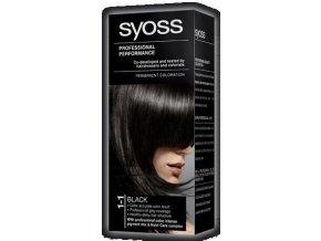 SYOSS barva na vlasy 1-1 Černý
