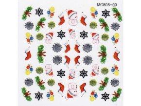 Vánoční nálepky MC09