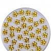 Zdobení nehtů kytičky žluté 50 kusů
