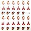 Vánoční nálepky na nehty 16