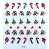 Vánoční nálepky na nehty 17