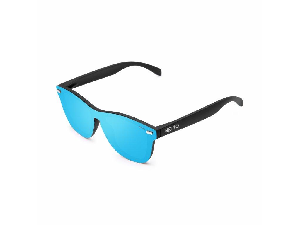 NEIBO IVORY - matte black/ice blue