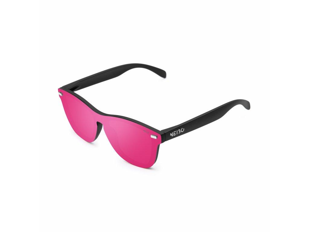 NEIBO IVORY - matte black/pink