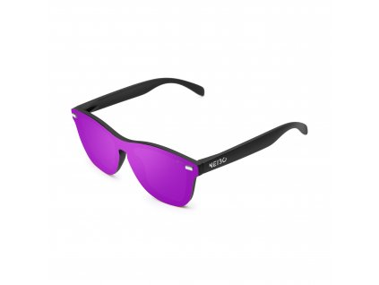 NEIBO IVORY - matte black/purple