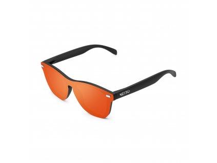 NEIBO IVORY - matte black/fire orange