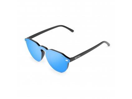 NEIBO TRAVIS - glossy black/midium blue