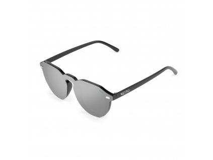 NEIBO TRAVIS - glossy black/silver
