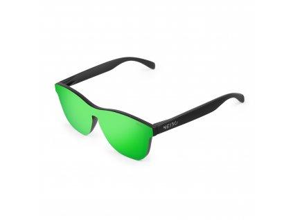 NEIBO IVORY - matte black/green
