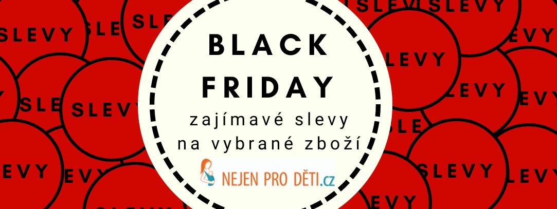Black Friday - zajímavé slevy na zboží