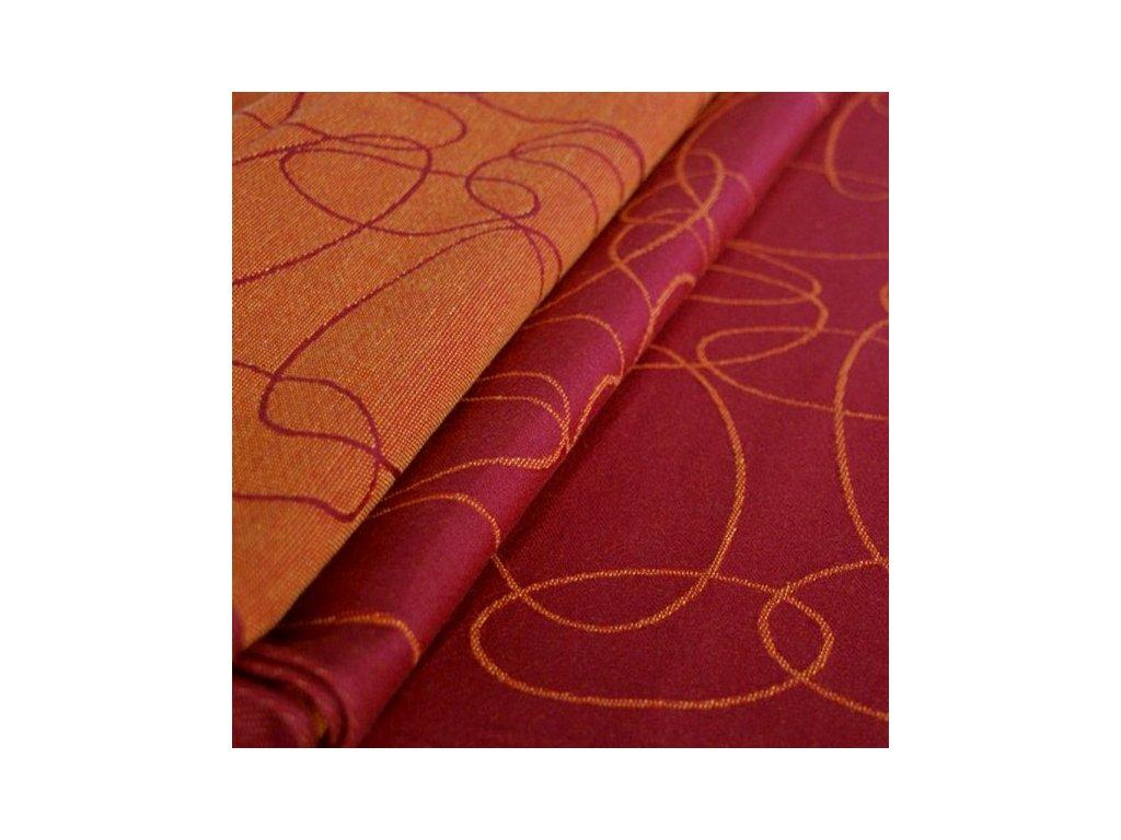 Didymos - Elipsy rubín mandarinka