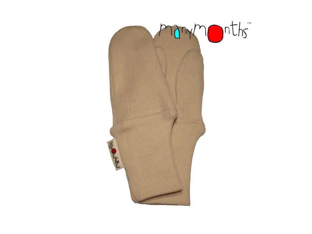 ManyMonths rukavice s palcem merino