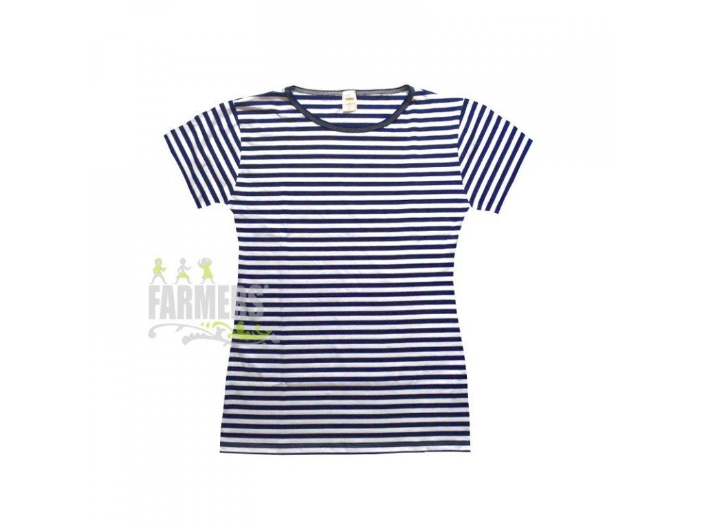 Dámské tričko krátký rukáv námořník