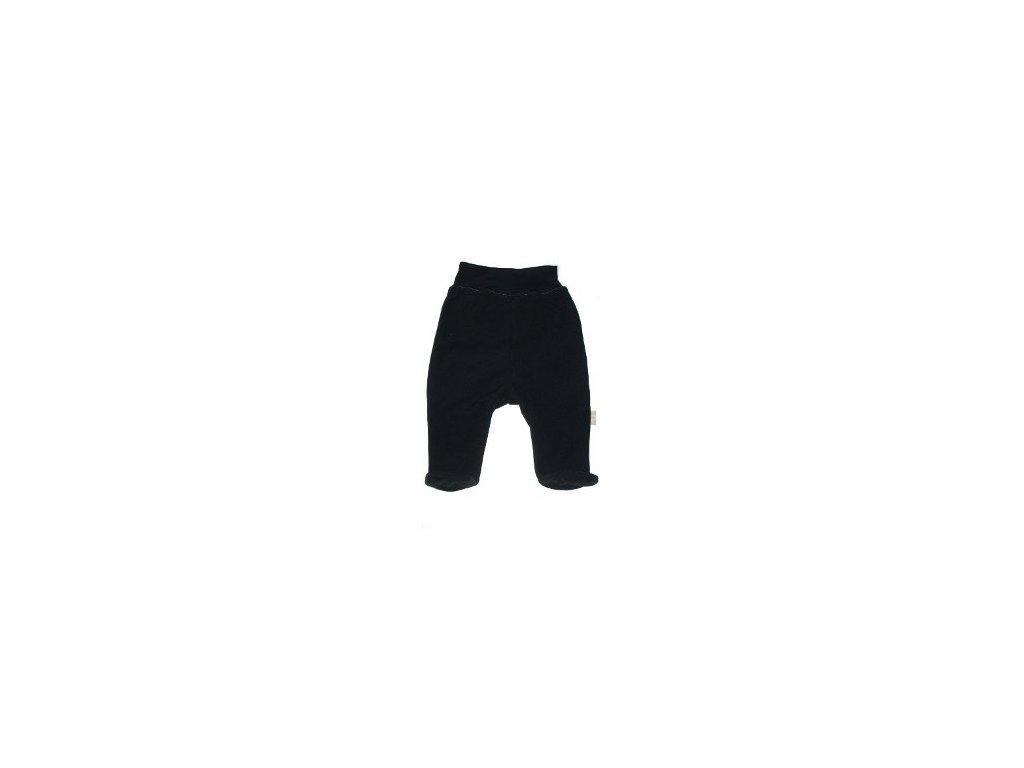 Polodupačky fleece černé