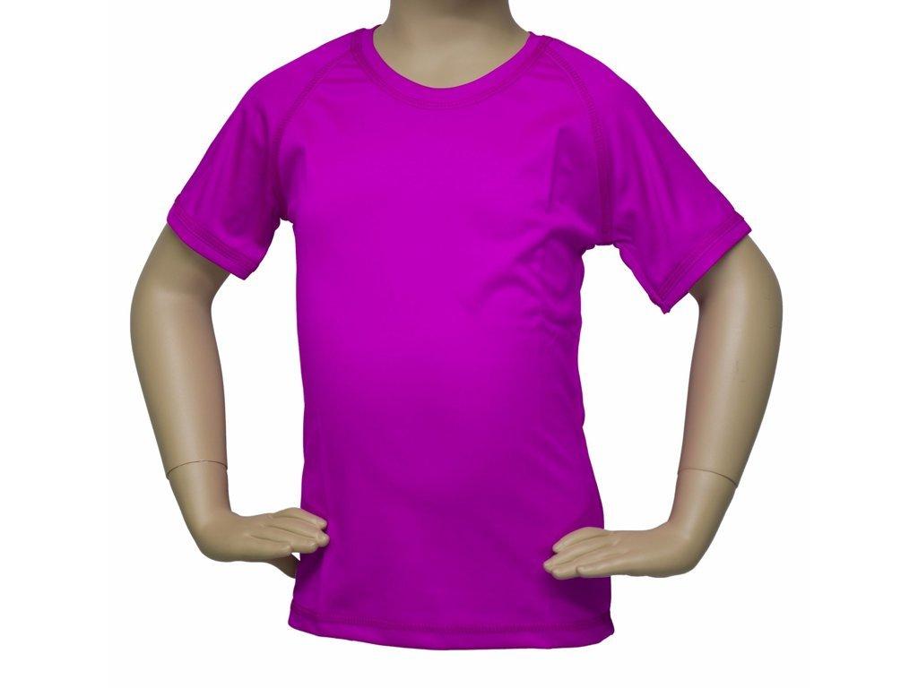 Tričko Fantom BAMBOO s UV ochranou - krátký rukáv