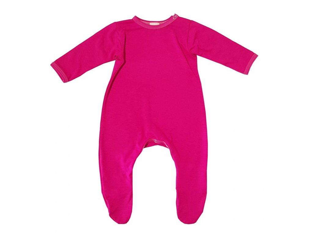 Dětský overal BAMBUS - různé barvy a vzory
