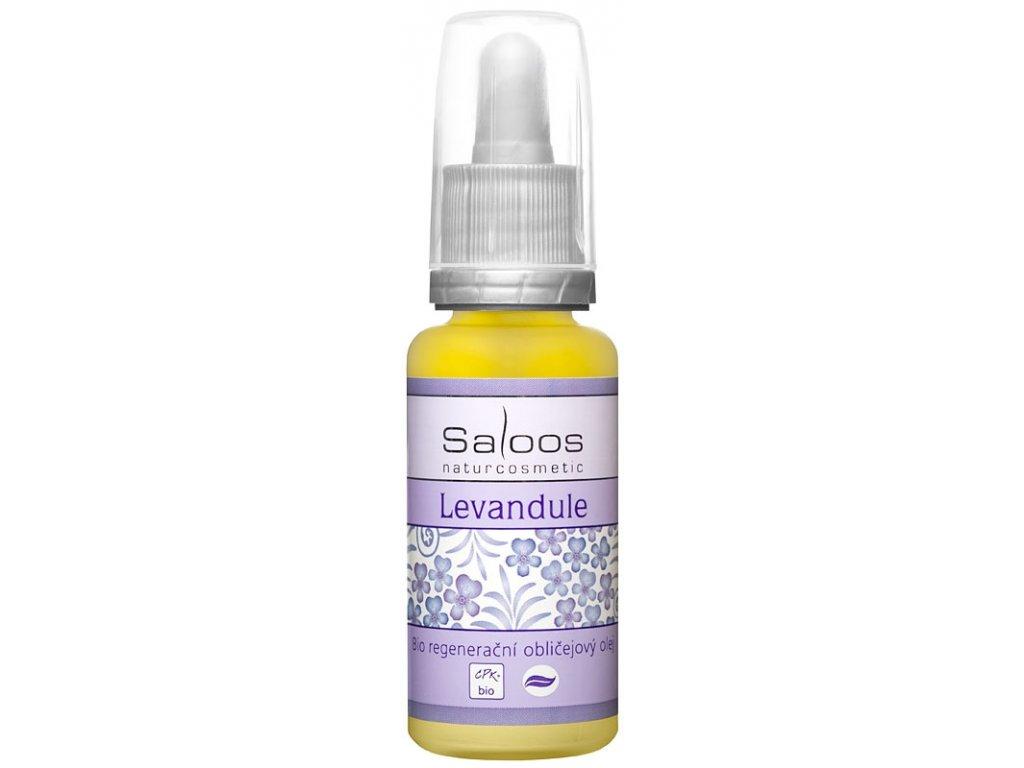 Regenerační obličejový olej Levandule