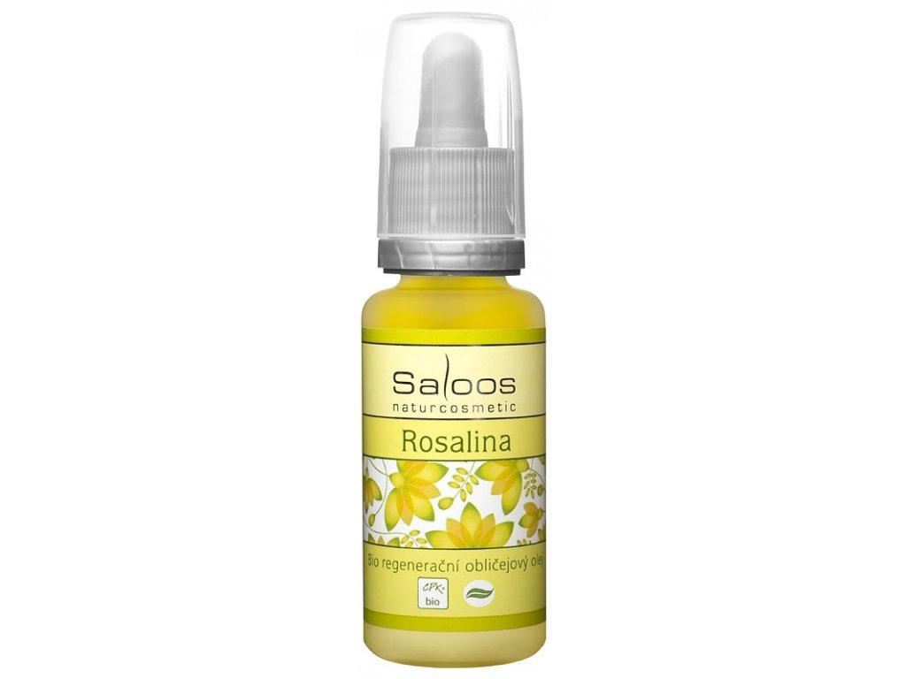 Regenerační obličejový olej Rosalina