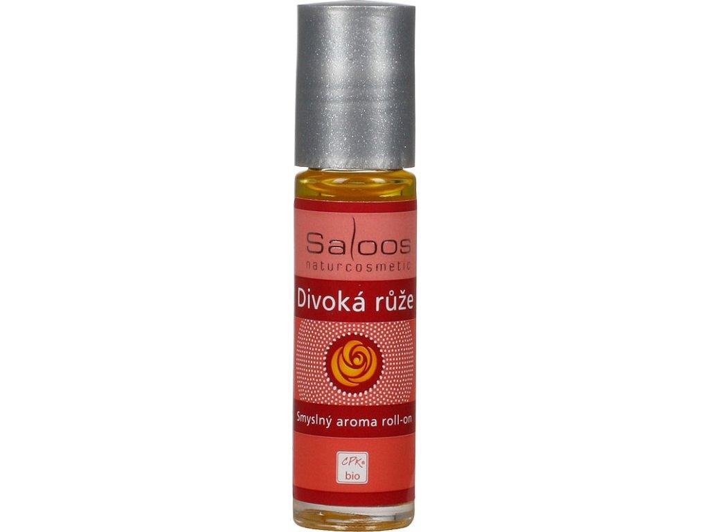 Bio Aroma roll-on - Divoká růže  - Smyslný