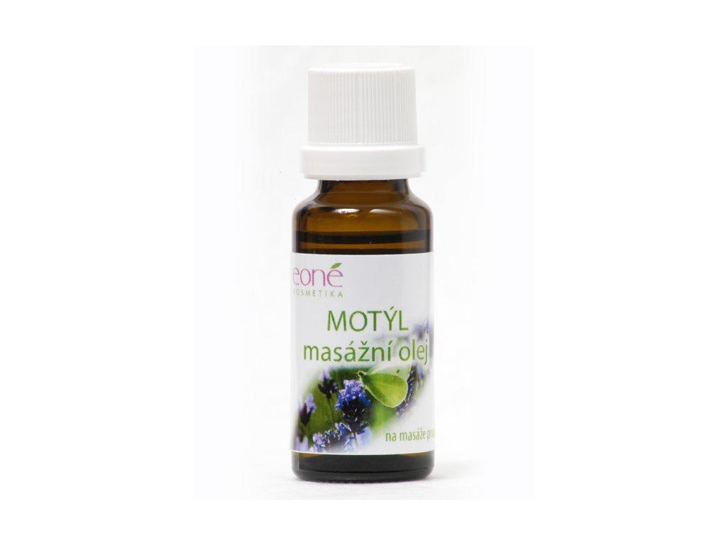 Motýl - masážní olej