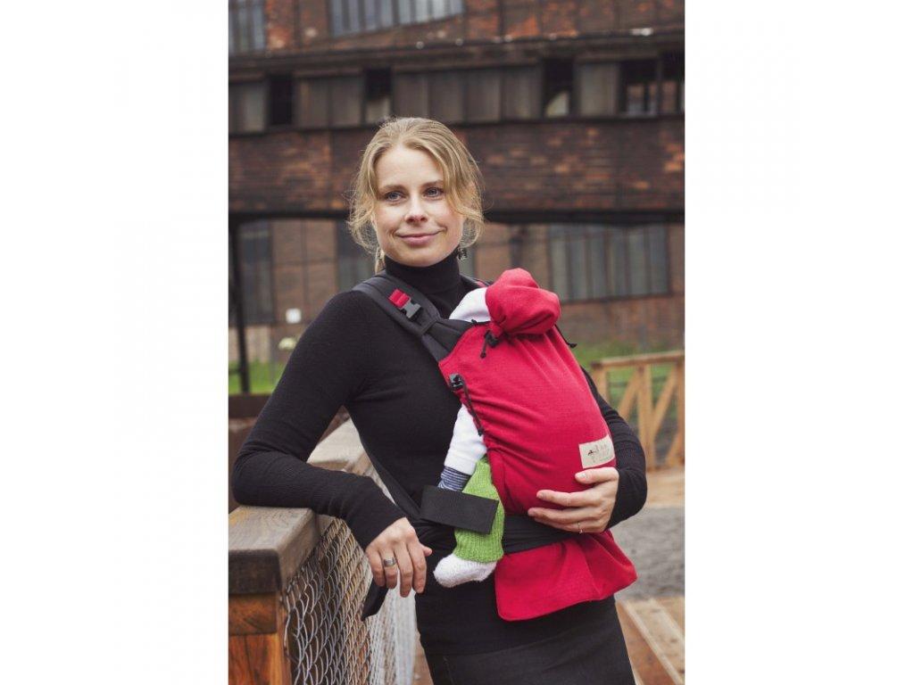 Nosítko Storchenwiege, červené + dárek