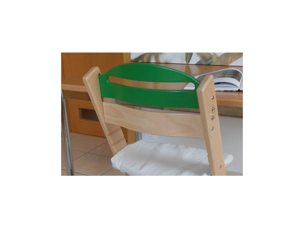 Zvýšená opěrka samostatná (k úpravě židle Klasik na židli Baby)