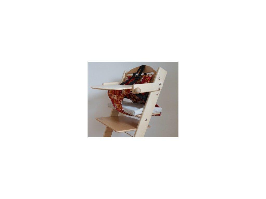 Kombinace pultík + vatelínové kalhotky k rostoucí židli Jitro (výhodnější cena) vč. botiček