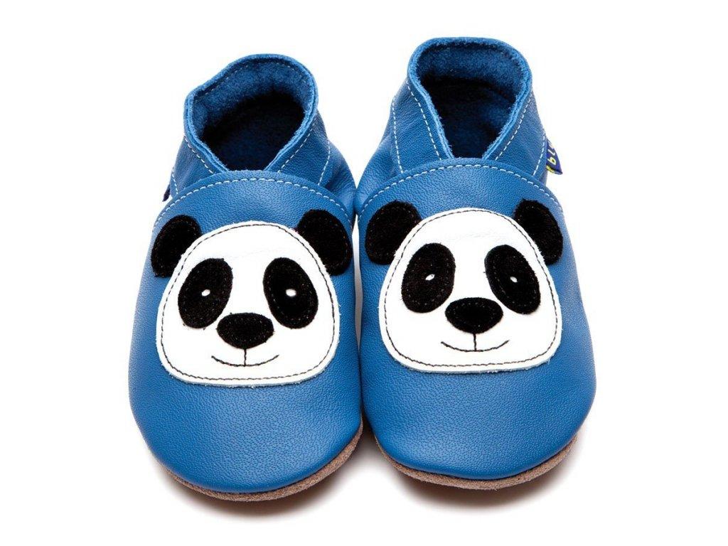 Panda blue, capáčky Inch Blue