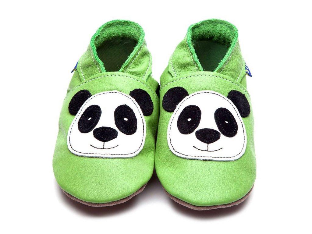 Panda green, capáčky Inch Blue