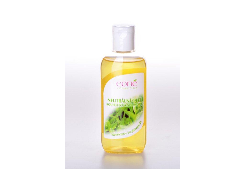 Neutrální olej koupelový a sprchový