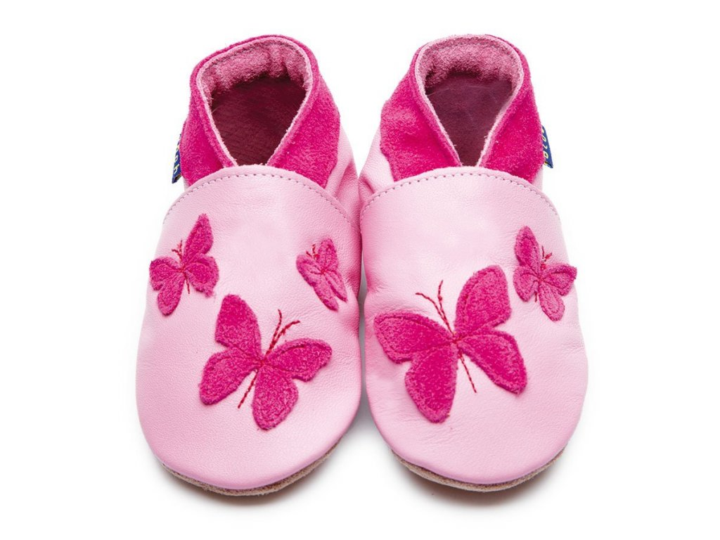 Kaleidoscope Baby Pink/Shocking pink, capáčky Inch Blue