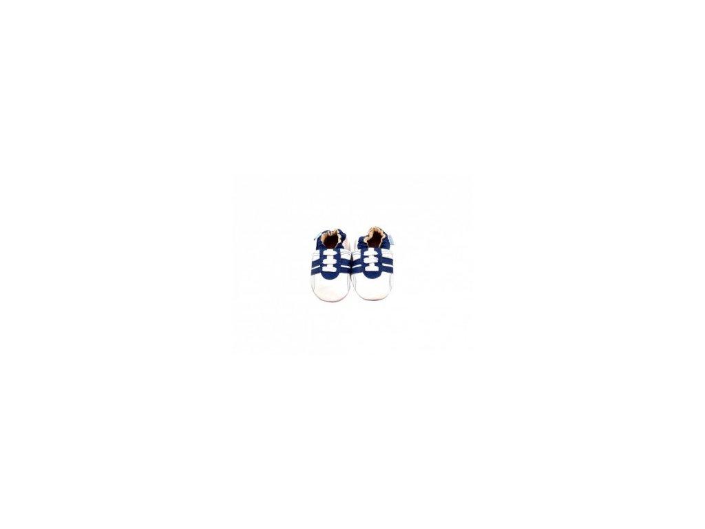Capáčky MiniFeet tenisky bílé, 12-18 měs