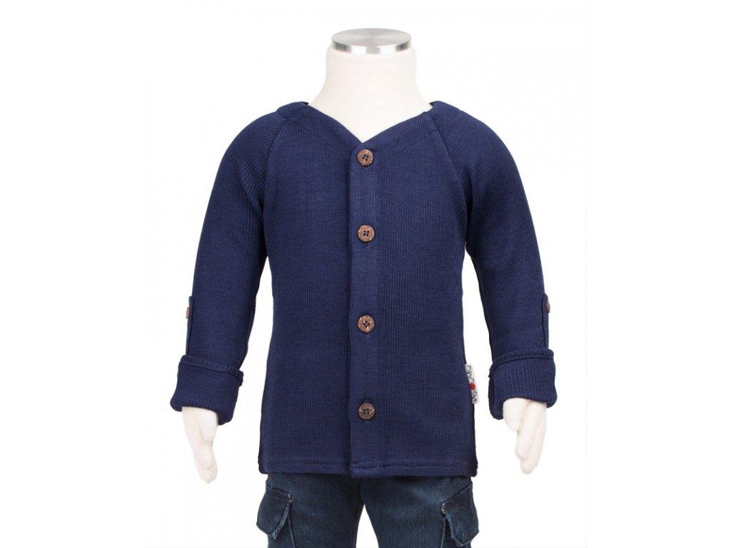 Manymonths kabátek/svetr rozepínací merino